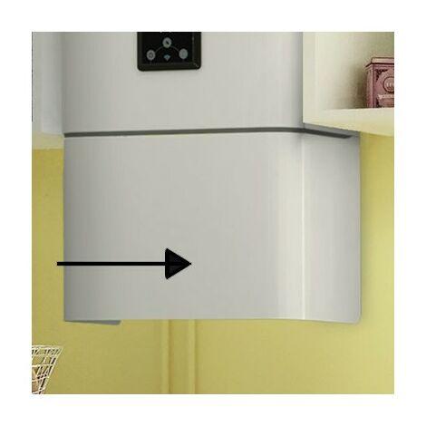 Cache-piquages - Pour chauffe-eau Linéo 100 à 120L - Blanc