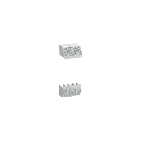 Cache borne plombable DPX³ 160 4P - pour raccordement prises avant