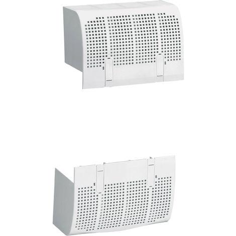 Cache borne plombable DPX³ 250 4P - pour raccordement prises avant