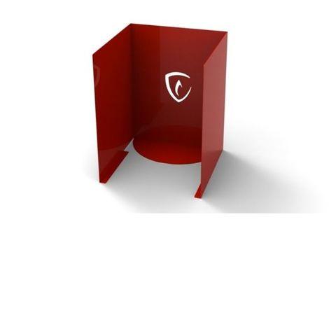 Cache-bouteille de gaz pour plancha Spicy ZENDART DESIGN - Rouge - Extérieur - Rouge