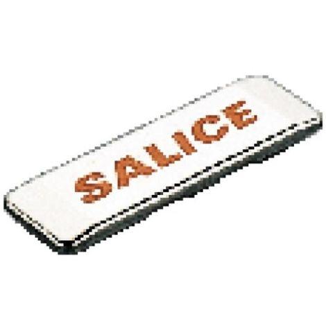 Cache bras neutre pour charnières Salice - série 100, 200, 700, 800, 900, série B