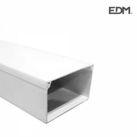 Cache-câble edm 2mts 40x60mm (prix par mètre)