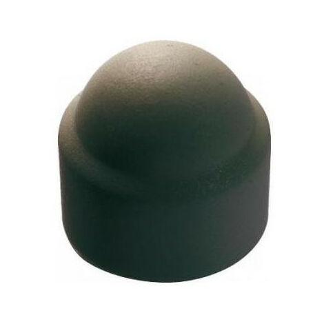 Cache écrous 6 pans polyéthèlène noir (paquet de 10) - plusieurs modèles disponibles