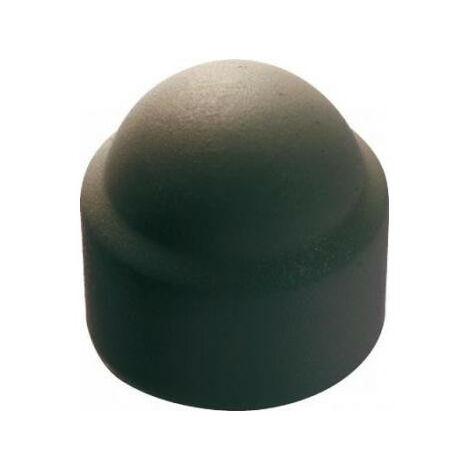 Cache écrous 6 pans polyéthylène noir (boîte) - plusieurs modèles disponibles