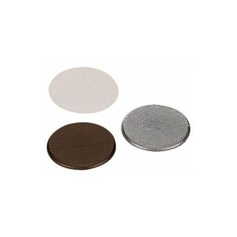 Cache - Matériau : Plastique - Décor : Blanc - HETTICH