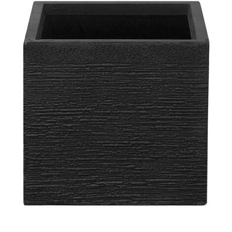 Cache-pot en forme de cube 30 cm