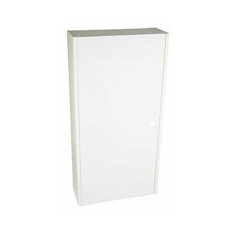 Cache pour coffret Drivia - 13 modules - 2 rangées - Blanc