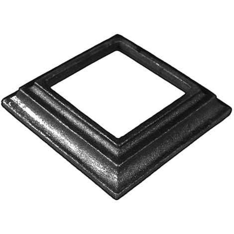 Cache scellement pour carré de 60 mm