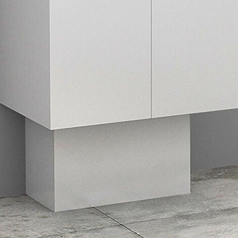 "main image of ""Cache-tuyaux coloris Blanc brillant - 50 cm"""
