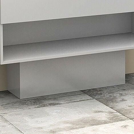"main image of ""Cache-tuyaux coloris Blanc brillant - 80 cm"""