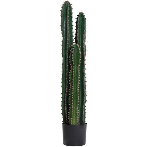 """main image of """"Cactus artificiel grand réalisme plante artificielle grande taille dim. Ø 17 x 100H cm vert"""""""