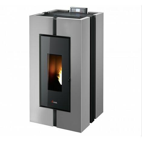 CADEL Doge³ Plus Pelletofen 10,5 kW Pellet Ofen Warmluftverteilung Holzpellets