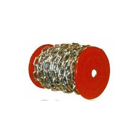"main image of ""Cadena Ind 10mm Bobina 12mt 25kg Esl.recto 10-mm-z-bobina C"""
