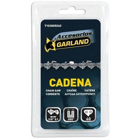 Cadena Motosierra 3/8'' 0.050'' 40 Eslabon Garland 7103805040