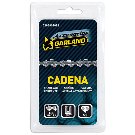 Cadena Motosierra 3/8 52E - GARLAND - 7103805252