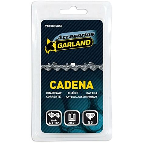 Cadena Motosierra 55 Eslabones E-340/40 Garland 7103805055