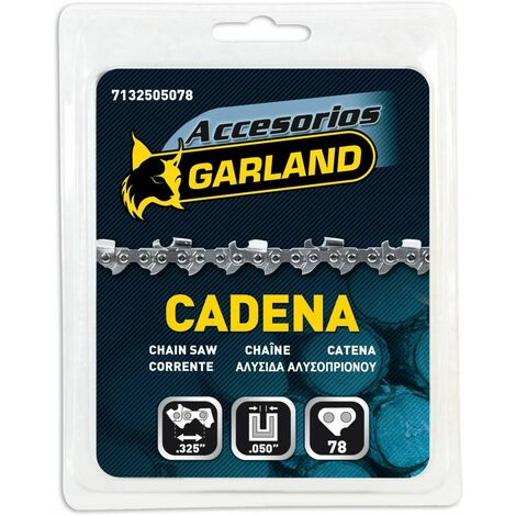 Cadena para motosierra 78 eslabones 20/50 cm Garland