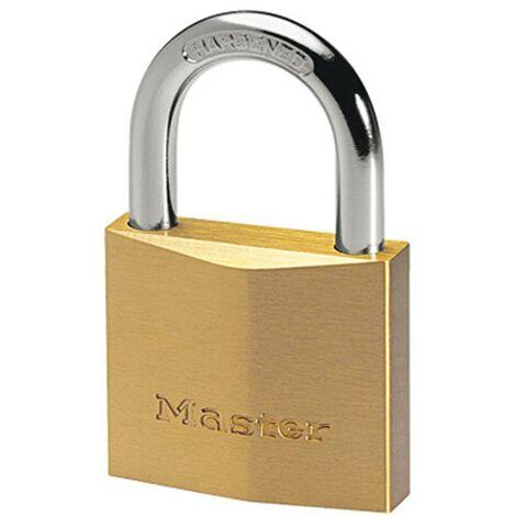 Cadenas à clé Master Lock laiton 36 x 60 mm