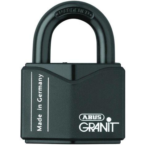Cadenas ABUS ABVS00838 noir avec serrure à clé