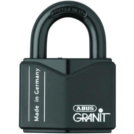 Cadenas ABUS ABVS00838 noir avec serrure à clé V036531