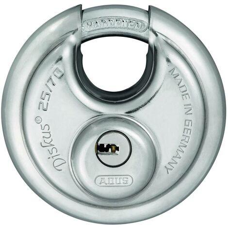 Cadenas ABUS ABVS35825 argent avec serrure à clé V036581