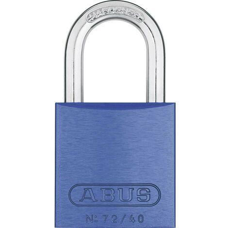 Cadenas ABUS ABVS46772 bleu avec serrure à clé