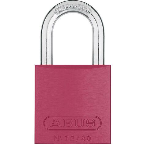Cadenas ABUS ABVS46790 rouge avec serrure à clé