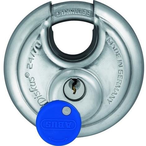 Cadenas ABUS FRANCE - Diskus en 70 mm circulaire acier - 32124