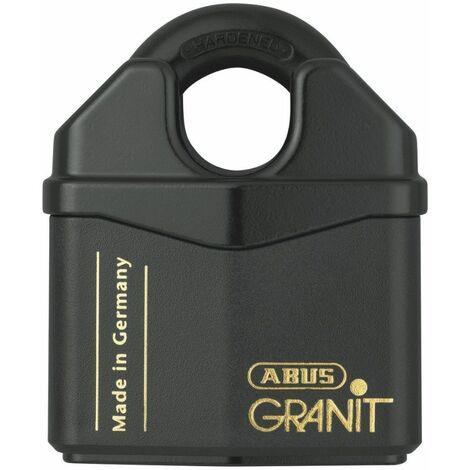 Cadenas ABUS Granit de très haute sécurité 37RK/80 - Noir