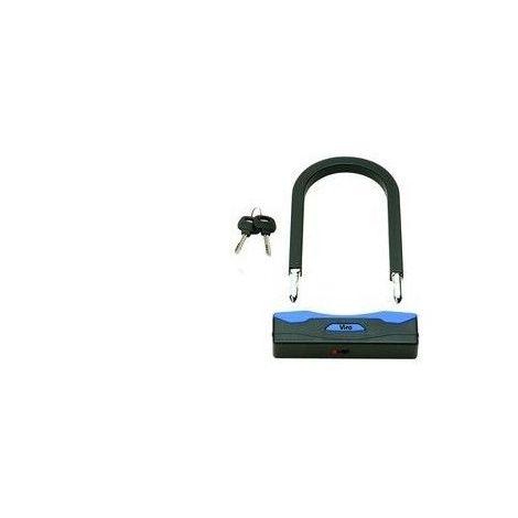 Cadenas antivol anse de 190 mm 2 clés