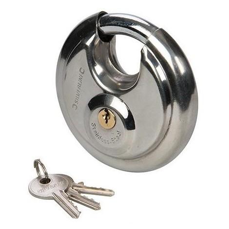 Cadenas circulaire en acier inoxydable 70 mm - 292707 - Silverline