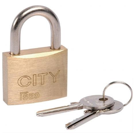 Cadenas City 45 anse acier ISEO - 2 clés ancienne variure - 02052202R.5