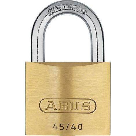 Cadenas cylindre laiton 4-40 avec 5 clés ABUS 1 PCS
