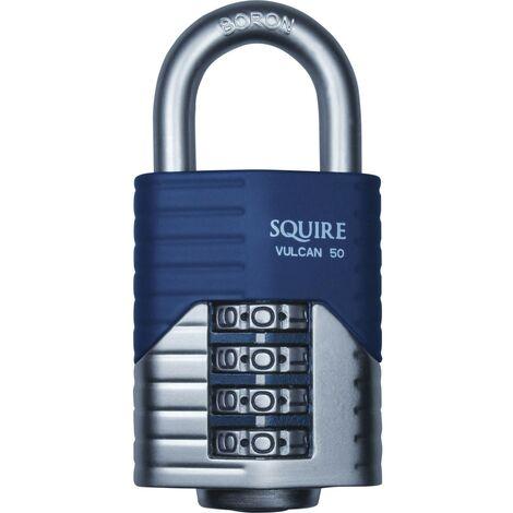 Cadenas de sécurité à combinaison SQUIRE VULCAN COMBI 50