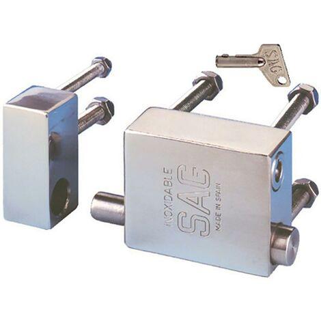 Cadenas de sécurité avec câble Serrure de fourgon en acier inoxydable Sag Sécurité
