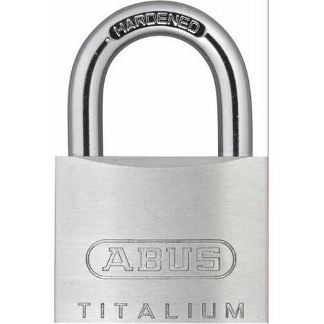 Cadenas de sécurité pour arc court 40Mm Aluminium Titalium Abus 54Ti/40