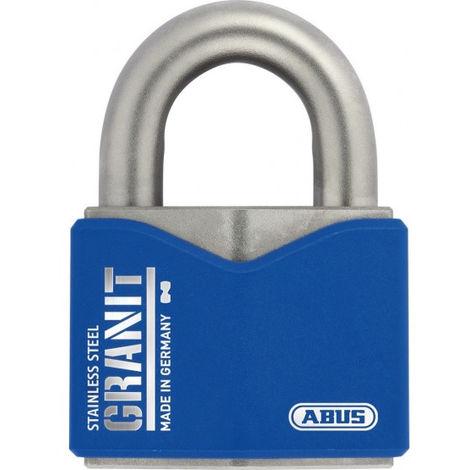 Cadenas Granit inox 37ST-55 mm ABUS clé protégée - 0069826