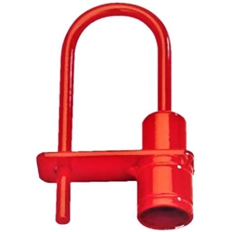 Cadenas Pompier Anse Rouge pour clé de 14 . Code 1453 CPEG