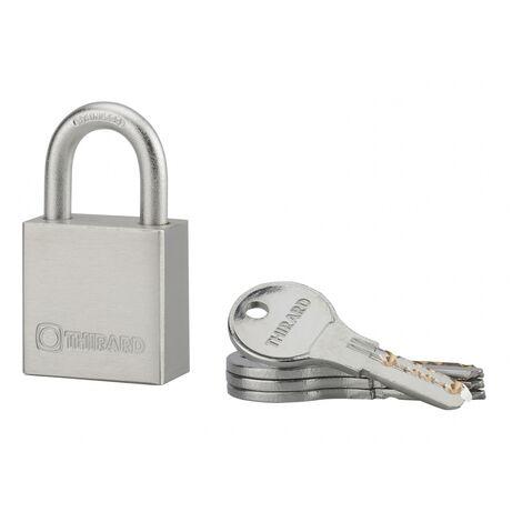 Cadenas RINOX 40mm anse inox 4 clés