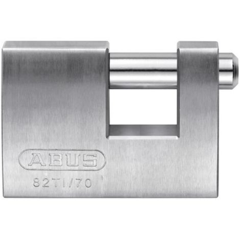 Cadenas Titalium 82 TI rectangulaire en 70 mm 2 clés