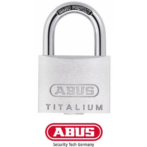 Cadenas Abus 64 Titalium 40mm Spécial Extérieur - Alu