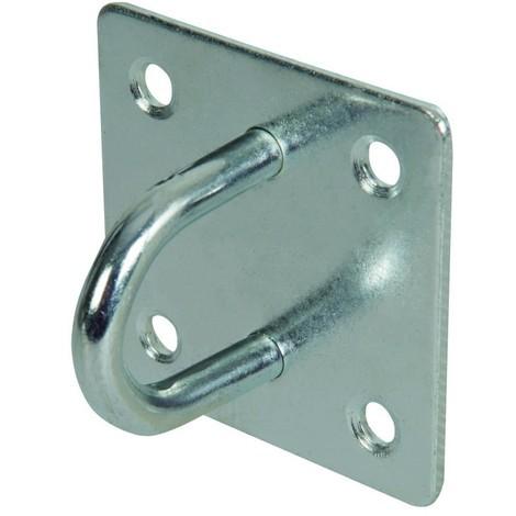 Cadène en acier galvanisé Choix du modèle Agrafe 50 mm x 50 mm
