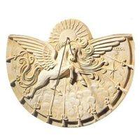 Cadran solaire en pierre reconstituée Pégase