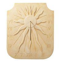 Cadran solaire en pierre reconstituée Soleil 2