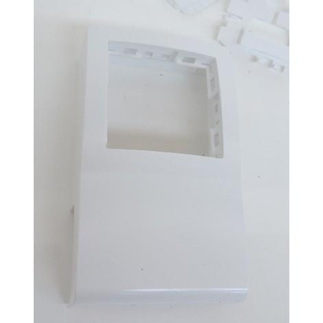 Cadre adaptateur blanc pour pose appareillage saillie sur moulure et goulotte 15x35mm Alréa SCHNEIDER ELECTRIC ISM14780P