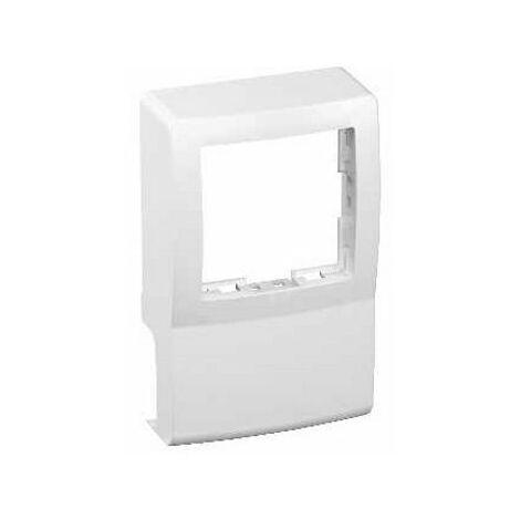 Cadre compatible pour moulure Optiline mini et appareillage Alréa - Pour moulure Optiline Mini 12 x 30mm