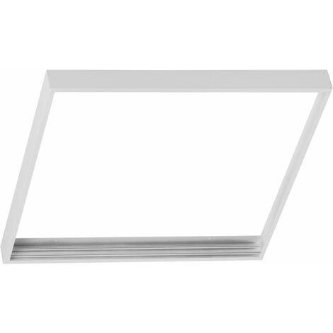 CADRE DALLE LED / kit de montage saillie pour dalles 300x300 /Blanc