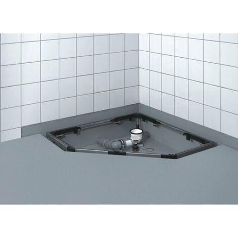 Cadre de montage Mepa SF pour receveurs de douche à 5 coins et 1/4 de cercle - 150185