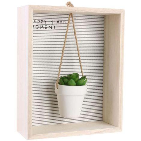 Cadre déco plante artificielle My Little Market