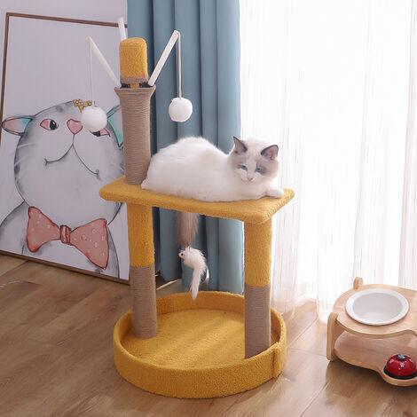 Cadre d'escalade pour chat, litière pour chat, arbre à chat, poteau à gratter pour chat, jouet pour chat, fournitures pour chat B